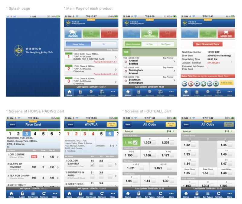 hkjc betting application